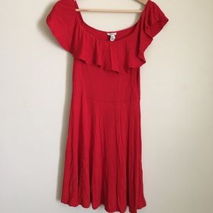 Forever 21 Red Dress M